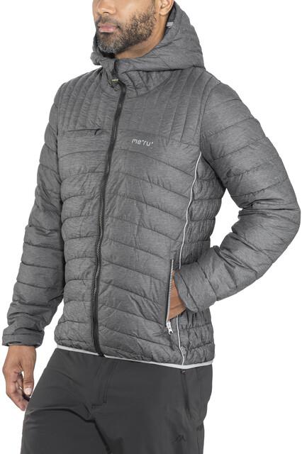 Herren Meru Padded Jacket Amberly Black Melange A54RjL